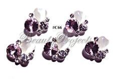 5pc Nail Art Charms 3D Nail Rhinestones Decoration Jewelry DIY Bling - C66