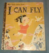 I Can Fly by Ruth Krauss 1992 Little Golden Book