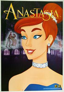 lotto 3 miniposter originali US film ANASTASIA animazione Don Bluth 1998 video
