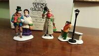 Dept 56 Dickens Village Accessory 1989 A CHRISTMAS CAROL MORNING #55883
