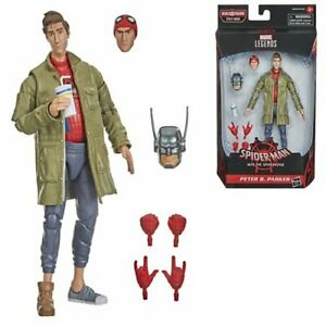 FREE SHIPPING! Spider-Man Marvel Legends 6-Inch Peter B. Parker AF HASBRO