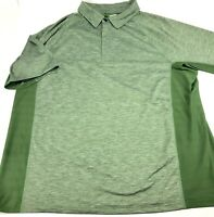 Duluth Trading Co Shirt Mens Size Extra Large XL Vented Short Sleeve Polo Green