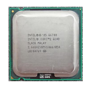 Intel Core 2 Quad Q6700 2.66 GHz Quad-Core 1066 MHz 8 M Socket 775 CPU Processor