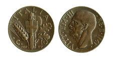 pcc1569_18) Vittorio Emanuele III  (1901-1943) 10 Cent Impero 1937
