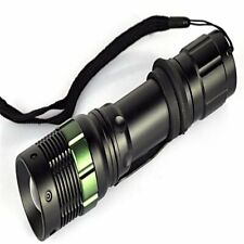 Police LED Flashlight Tactical 8000LM T6 Zoomable Torch Lamp 5 Mode 18650 AAA UK