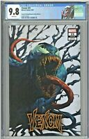 Venom #25 CGC 9.8 2nd Second Printing Unknown Comics Edition B Dave Rapoza Cover