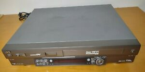 JVC SR-VS30U Dual Format S-VHS and Pro DV Recorder UNIT ONLY NO REMOTE FOR PARTS