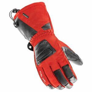 Joe Rocket Snowmobile Winter Mens Glove LATITUDE XT RED 1600-1104 LARGE NEW