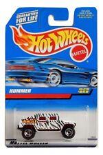 Mattel Hot Wheels 1:64 Scale White & Black Hummer Die Cast Truck Collector #858