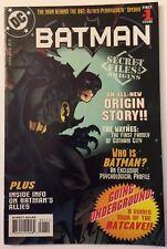 Secret Files and Origins Batman #1 (DC, 1997) High Grade!
