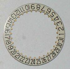 DATE-DISC FÜR ETA 2502, 2622, 2724, 2752, 2772, 2789, 2790 u.a. BEI 6 UHR  ~NOS~