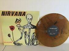NIRVANA - INCESTICIDE - BRAND NEW YELLOW/BROWN MARBLED COLORED VINYL IMPORT LP