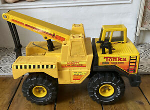Vintage Tonka Mighty Tow Service Turbo Diesel Truck Good Condition