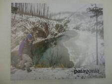 Patagonia Fishing Retail Store Poster