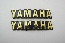 ABS Gas Fuel Tank Emblem Decal Sticker For Yamaha SR185 XV500 XV920 XZ550 RXS100