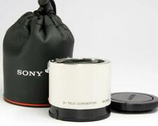 SONY SAL20TC 2x Teleconverter Extend focal length of master lens EMS w/ Tracking