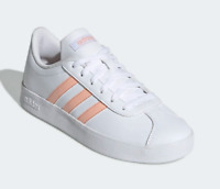 NEW Adidas Kids Youth Girls Essentials VL Court 2.0 Shoes