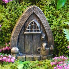 Wateringcan Fairy Door for Garden Faeries Elfs Pixies In/outdoor Bronze Finish