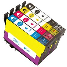 Ink Cartridges fit Epson WF-2860DWF, WF-2865DWF, XP-5100, XP-5105, 502XL Non-OEM