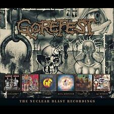 Gorefest - Nuclear Blast Recordings (6cd) - CD - New