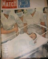 Paris Match N°605 12 novembre 1960 Kennedy Nixon Naissance Farah Mauriac Boricki