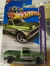 Hot Wheels Custom '69 Chevy Pickup HW Showroom Green