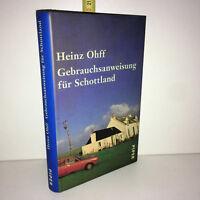 Heinz Ohff GEBRAUCHSANWEISUNG FÜR SCHOTTLAND Piper 1996 - ZZ-5847