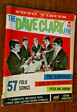 """"""" Songster """" Magazine - Vol. 1, No. 1, 1964 - The Dave Clark Five & other Groups"""