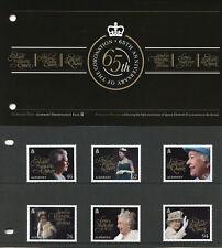 Alderney 2018 MNH Queen Elizabeth II Coronation 6v Set Pres Pack Royalty Stamps
