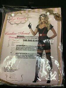 California Costumes Cardiac Arrest Set, Black, Large, Black, Size Large TeqA