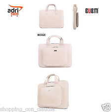 BORSA CUSTODIA BEIGE PORTA PC  MacBook Pro 15 POLLICI ECO PELLE CON TASCHE MAC