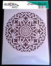 Patrón Geométrico Azulejo A4 Mylar reutilizable Plantilla Aerógrafo Pintura Arte Craft