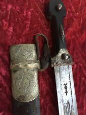antique russian caucasian dagger kinjal kindjal sword shamshir