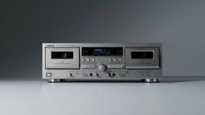 TEAC Double Cassette Deck W-1200 (SILVER)[Japan Domestic genuine products]