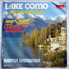 "7"" Vinyl SWEET PEOPLE - Lake Como / Santa Barbara"
