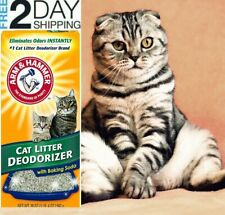 Cat Litter Deodorizer Powerful Odor Neutralizers with Baking Soda Arm & Hammer