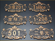 Personalized custom House number Plaque Number Acrylic 3D ADDRESS SIGN