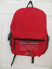 "NEW ST. LOUIS CARDINALS FULL SIZE 16"" BACKPACK BOOK BAG OFFICIALLY LICENSED MLB"