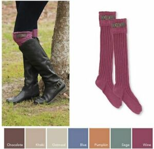 Noelle Boot Sock with Buckle - Pumpkin