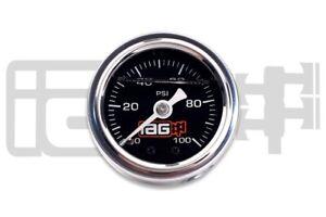 IAG Performance Fuel Pressure Gauge (Black)