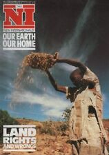 THE NEW INTERNATIONALIST No.177 (November 1987) LAND RIGHTS: OUR EARTH, OUR HOME