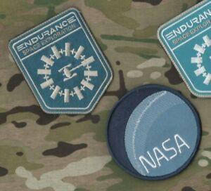 """Nasa Endurance Espace Exploration Film """" Interstellaire """" Prop Vêlkrö 2-PATCH"""