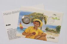 ARUBA FLORIN 1988 COIN COVER A98 - 4