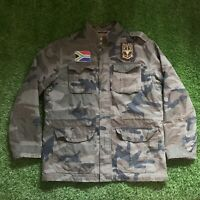 Polo Ralph Lauren Rugby South African Flag M-65 Military Jacket