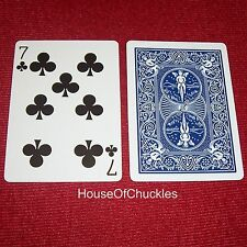 One Way Forcing Card Deck, 7 Of Clubs, Blue Bicycle, Magic Trick, 1-way Force
