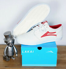 Lakai Footwear Skate Schuhe Shoes Griffin White Red Leather 9/42,5