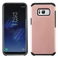 Étuis, housses et coques noirs métalliques Samsung Galaxy S8 pour téléphone mobile et assistant personnel (PDA)