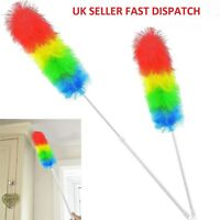 1.2m FEATHER DUSTER Extendable Magic Anti Static Telescopic Extending Handle UK