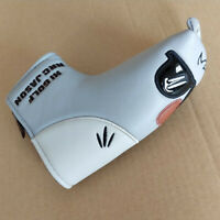 1pc New Blade Golf Putter Cover Cartoon Style Magnetic Headcover for Most Brand