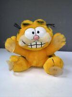 """Vintage Windshield Garfield 8"""" 1978 R. Dakin Plush"""